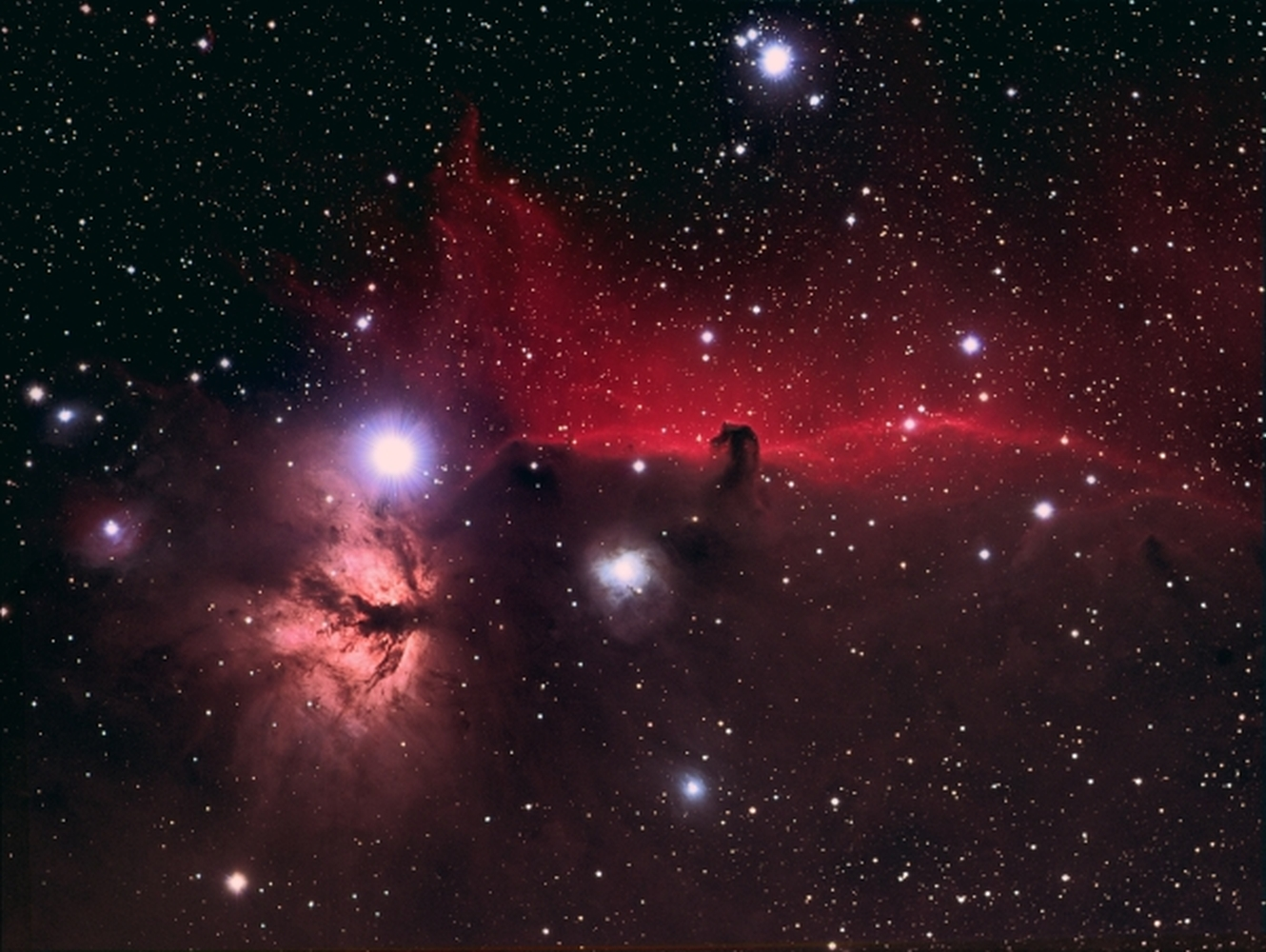 B33 Horsehead Nebula from BMV Observatories