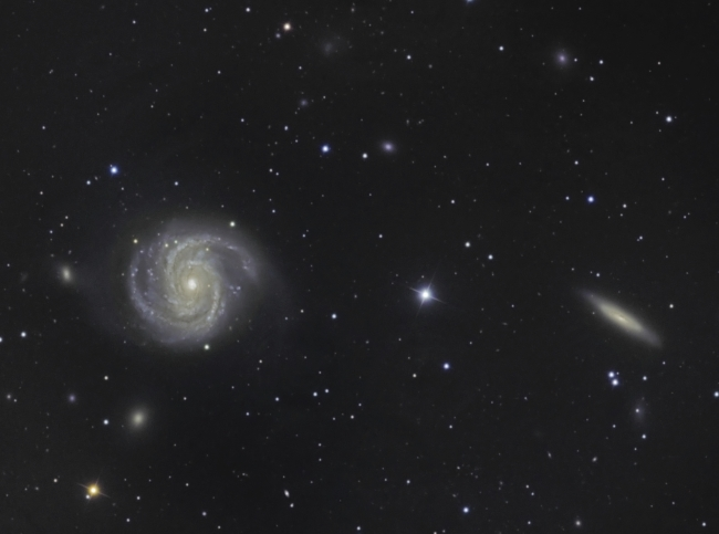 M100 from BMV Observatories