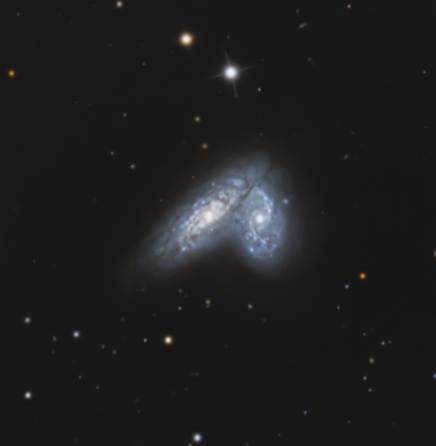 NGC 4567 from BMV Observatories
