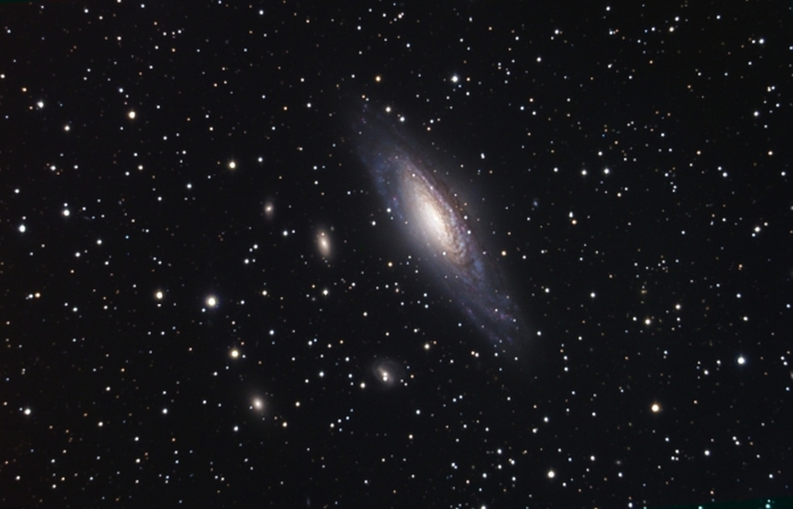 NGC 7331 from BMV Observatories