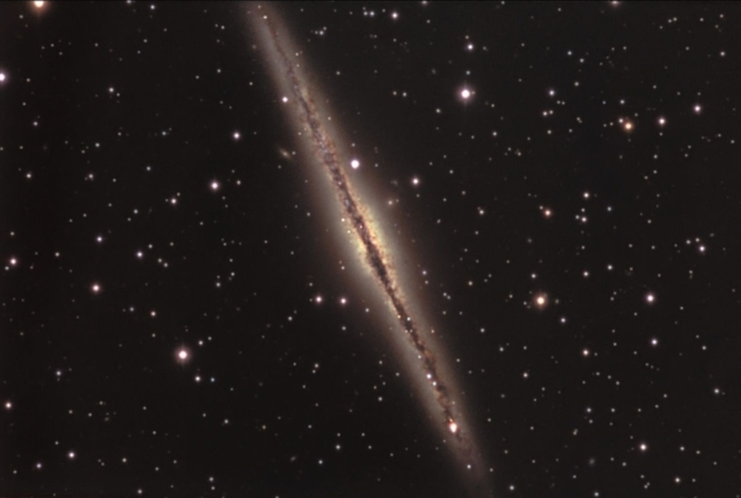 NGC 891 from BMV Observatories